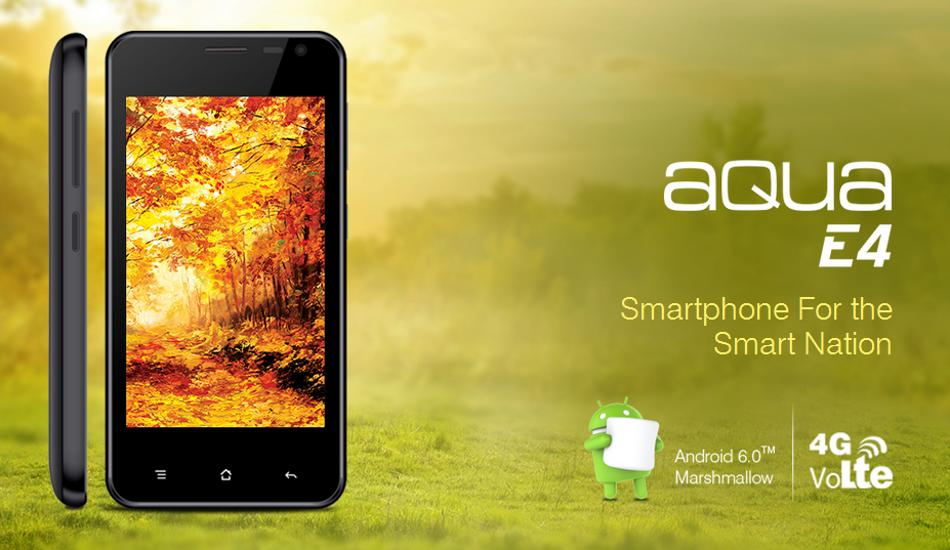 Intex Aqua E4 unveiled for Just Rs 3333: Check out Specs, Features, Price
