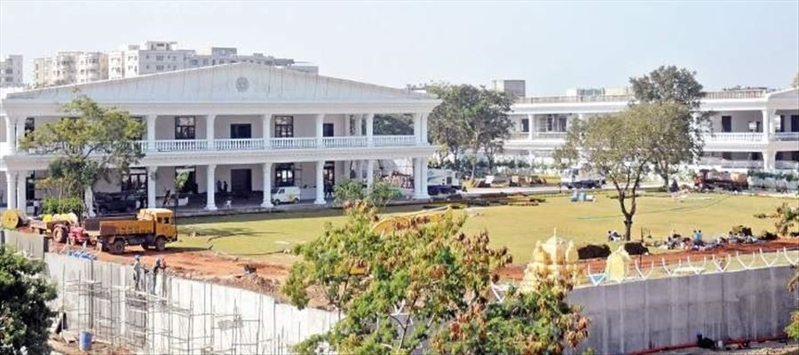 Telangana Chief Minister KCR New House