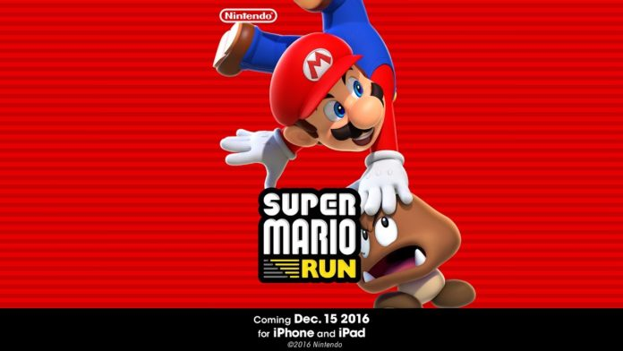 Super Mario Run Introduces for iPhone and iPad on December 15