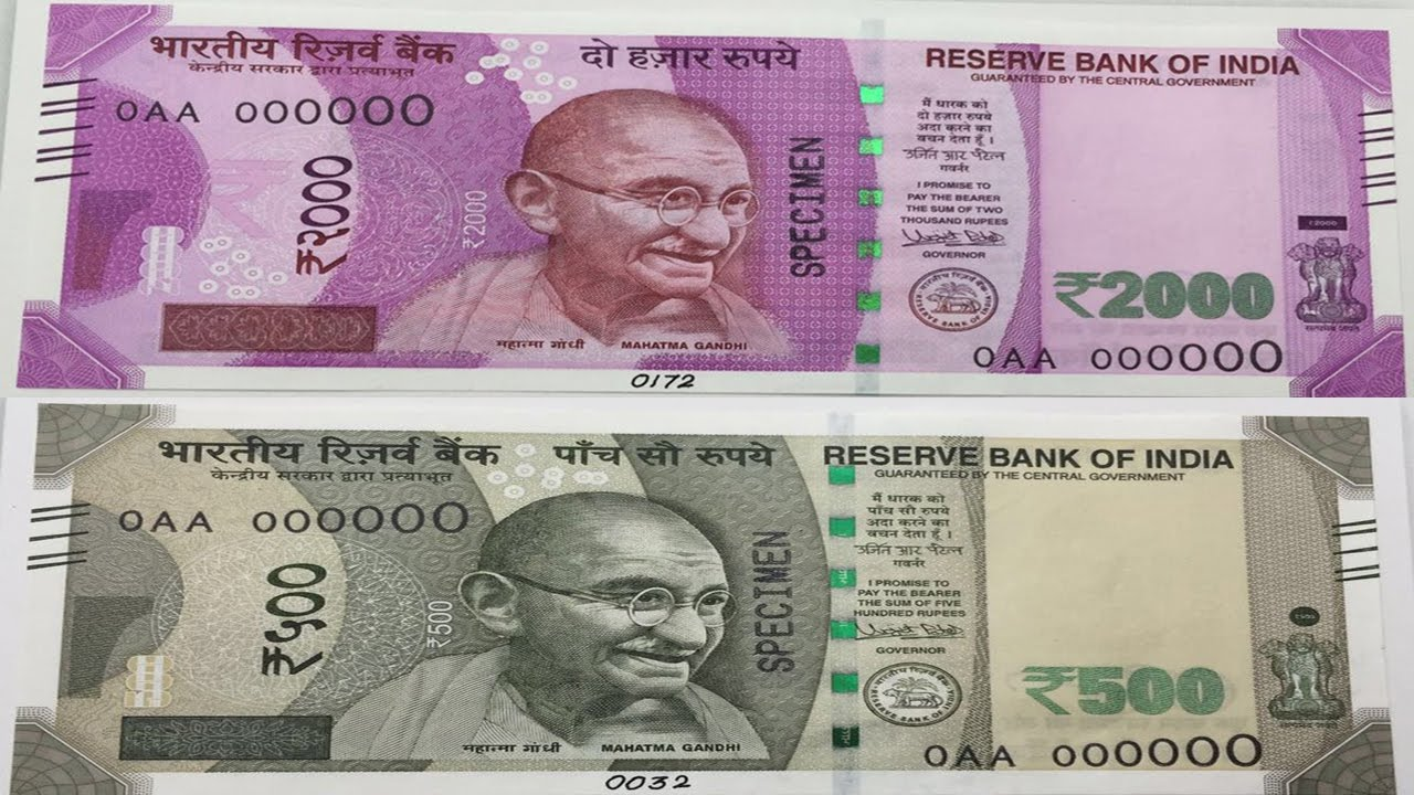 Government Announces New Statement on Demonetization of 500 and 1000 Notes