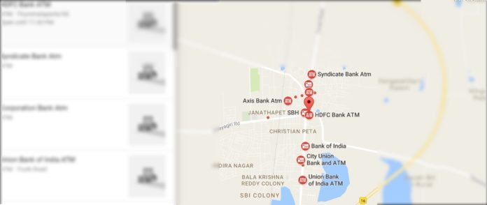Want to Know your nearest ATMs with Cash, Try these apps and Track
