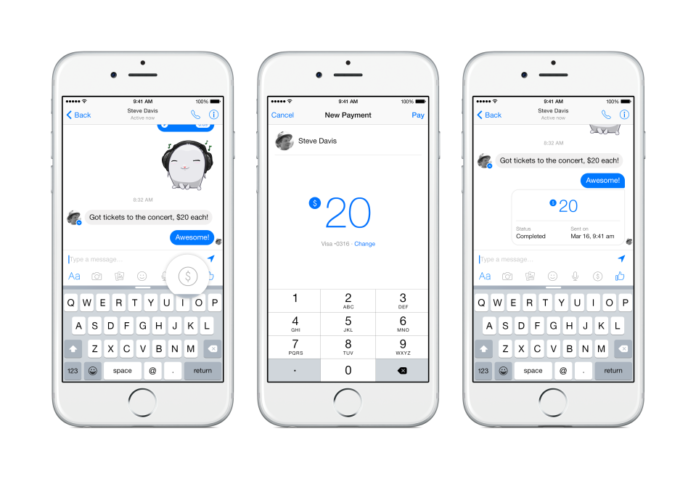 Facebook is About to Launch Payments via Facebook Messenger