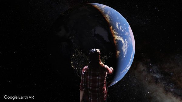 Google Earth VR is Now Available on Stream