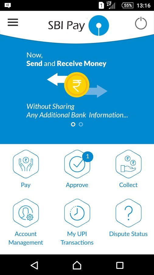 SBI Pay App Launched for Android Powered by UPI