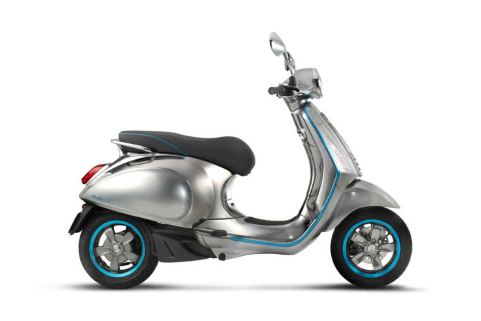Vespa Launches its First Electric Scooter at EICMA 2016
