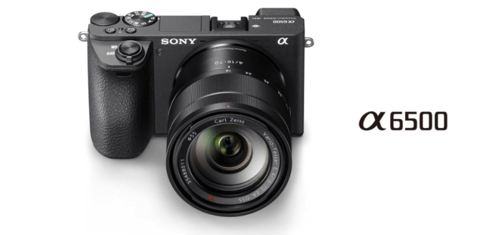 sony a6500 mirrorless camera launched