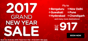 Airasia grand new year sale 2017
