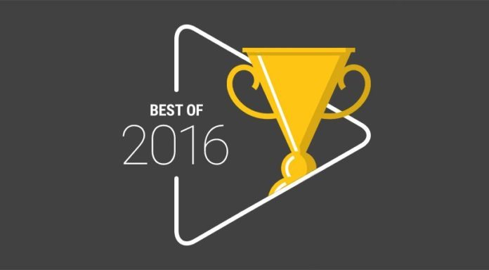 Google Play Top Trending list of 2016