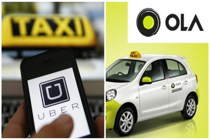 uber and ola to-surge-price