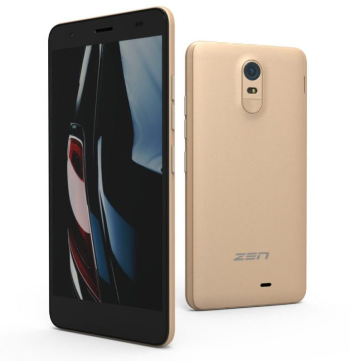 Zen Cinemax Click smartphone launched