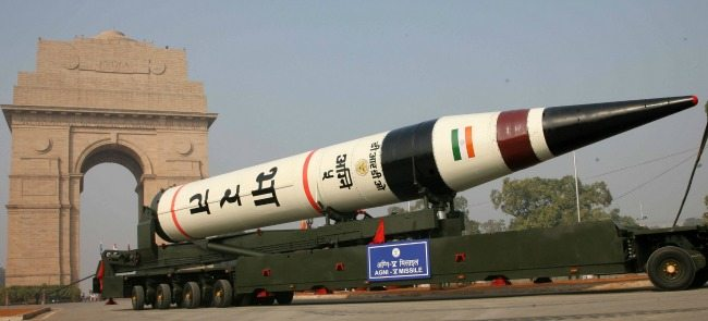 interesting things about the Agni v missile