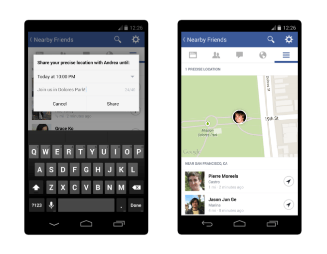 Facebook kills Nearby Friends feature