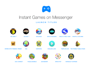 Facebook Instant Games to Messenger Launched