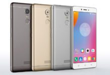 lenovo vibe k6 note launched in india