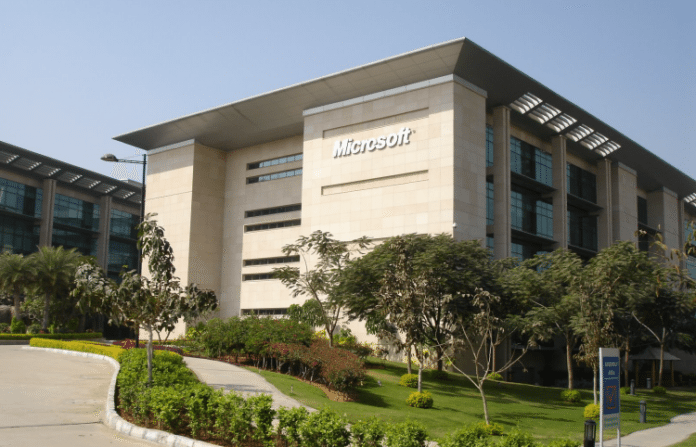 microsoft mine ties up with LV prasad