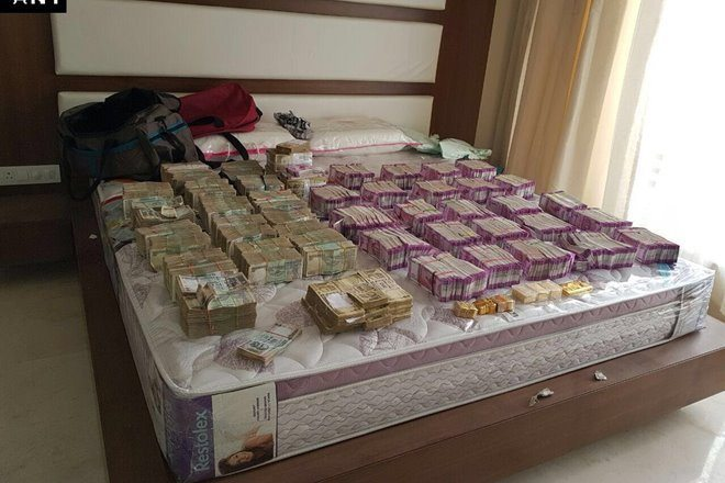 Income Tax department catches Money Laundering