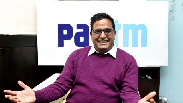Paytm CEO Vijay Shekhar Sharma Sells 1 Percent Stake to Raise Funds