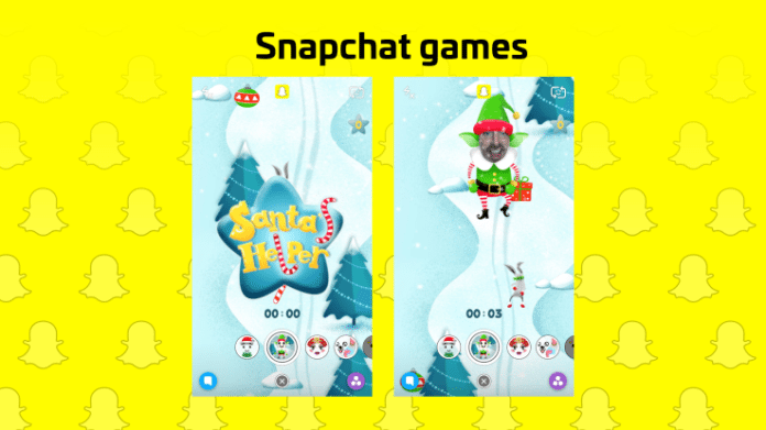 """Snapchat is now featured with """"Filter Games"""""""