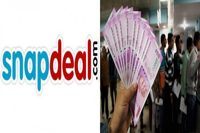 snapdeal cash@home