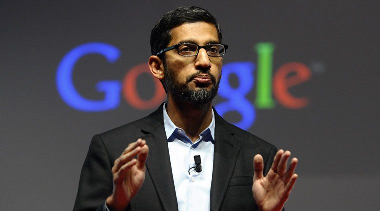 Sundar Pichai visits India, to make announcements for startups
