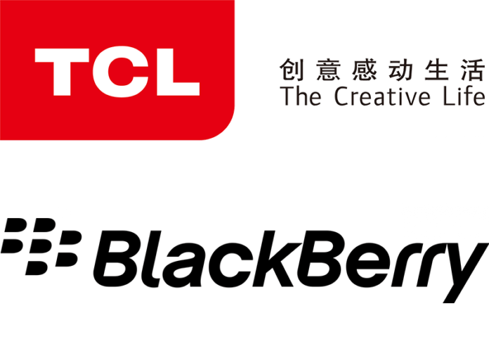 Blackberry brand and TCL