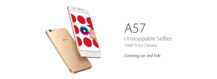 Oppo A57 All Set to Launch in India