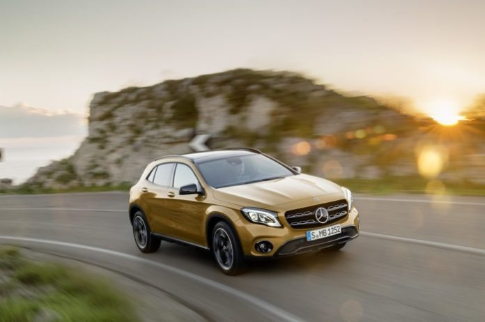 New Mercedes Benz GLA