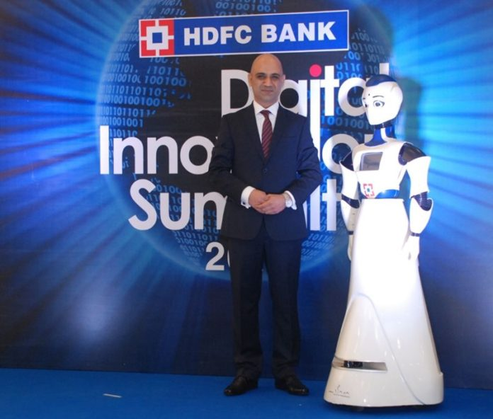 HDFC Bank Deploys Robots