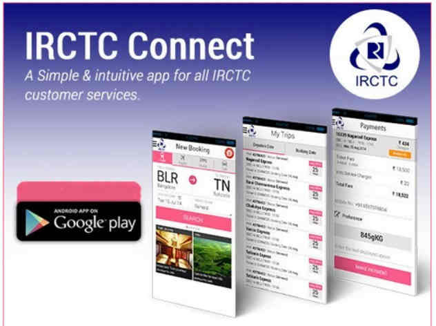 Irctc rail connect application