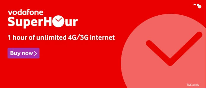Vodafone SuperHour Offer