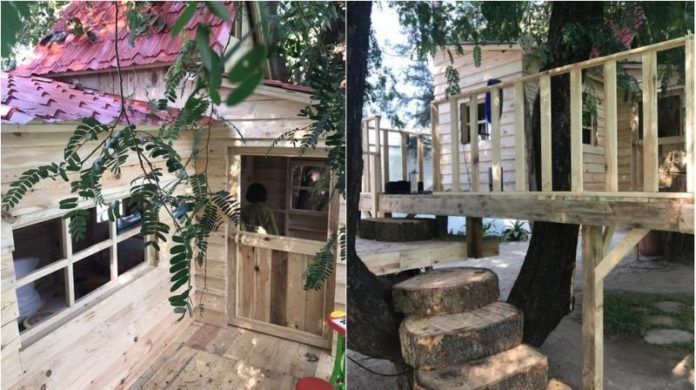 Abram Khan Tree house