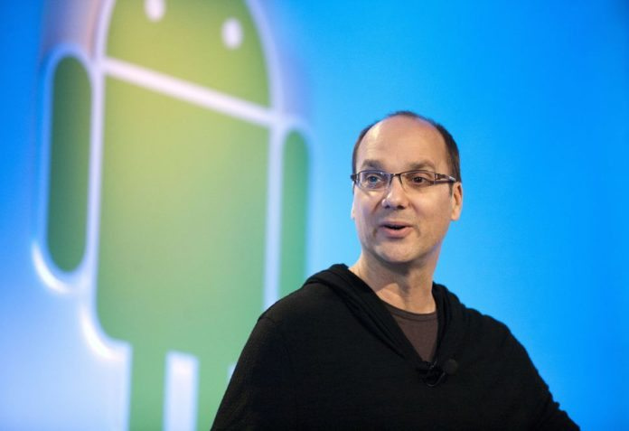 former android chief Andy rubin