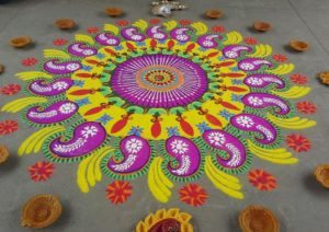 traditional rangoli design