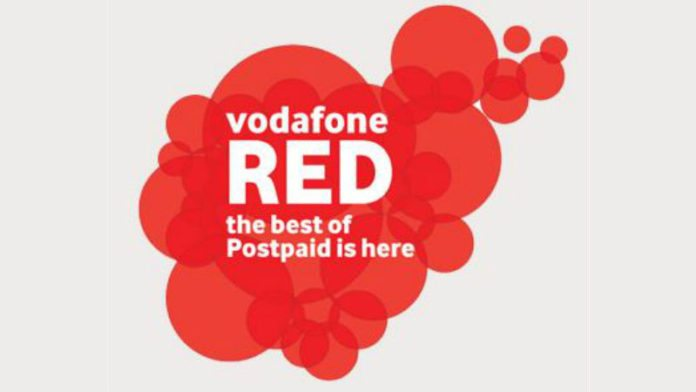 Vodafone Red Postpaid plan