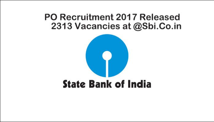 SBI PO Recruitment 2017 image