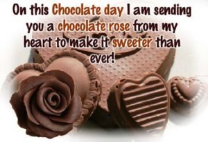 cute chocolate day pics