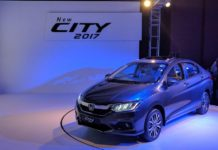 new honda city 2017