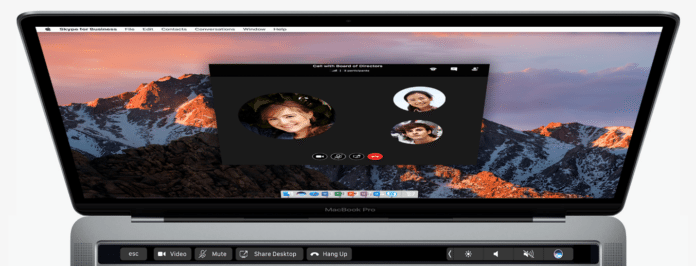 touch bar support for mac
