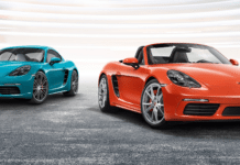Porsche 718 Boxster and 718 Cayman