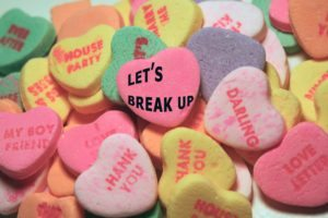 Breakup day SMS