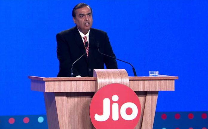 Reliance Jio App-based taxi services