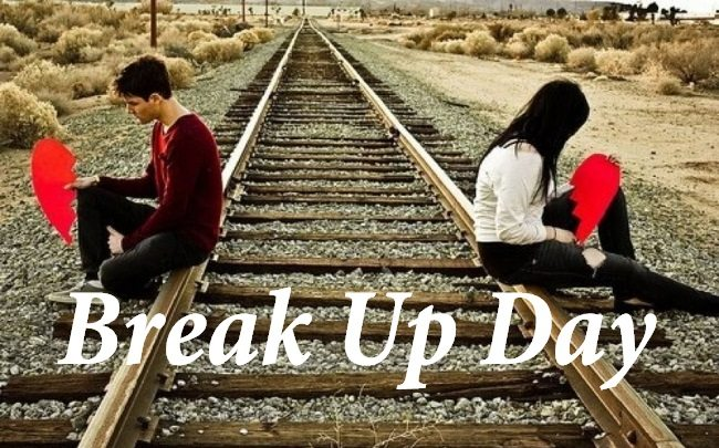 Love couple Breakup Wallpaper : Painful Breakup day Quotes SMS for your Girlfriend or Boyfriend