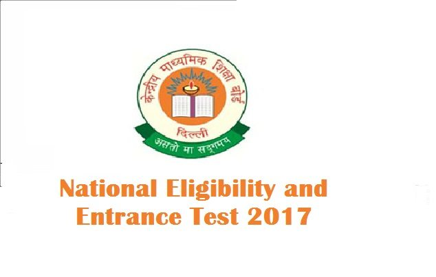 NEET 2017 new exam cities