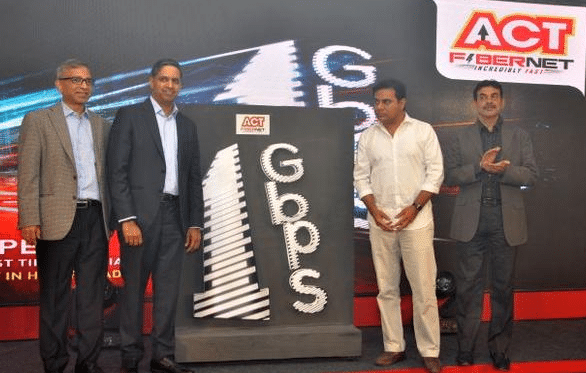 ACT Fibernet Launched 1 Gbps