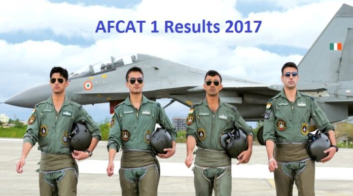 IAF AFCAT 1 Results Released