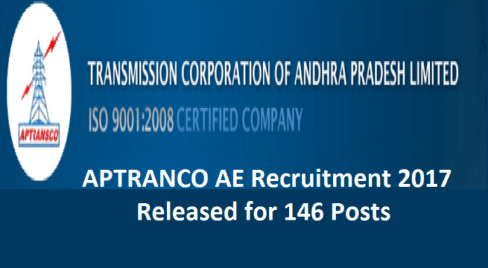APTRANSCO AE Recruitment 2017
