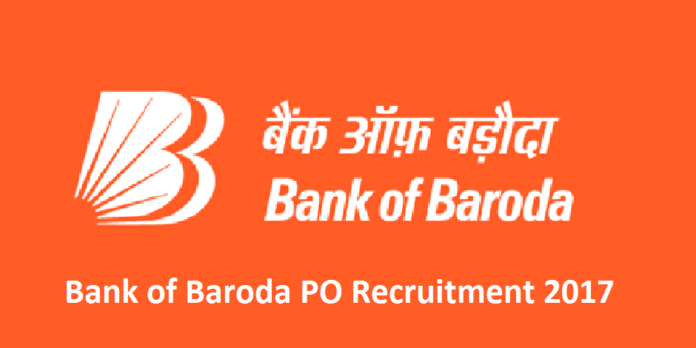 Bank of Baroda Manipal PO Recruitment 2017