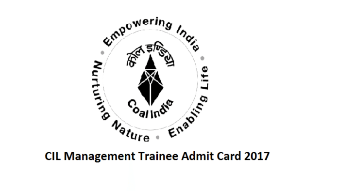 CIL Management Trainee Admit Card 2017