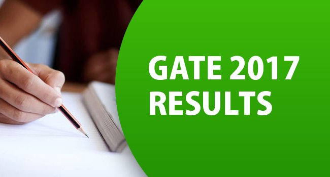 GATE Exam 2017 Results