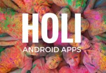 Best Apps for Holi